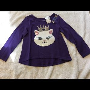 Purple girls shirt